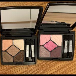 Limited edition Dior eyeshadow palettes